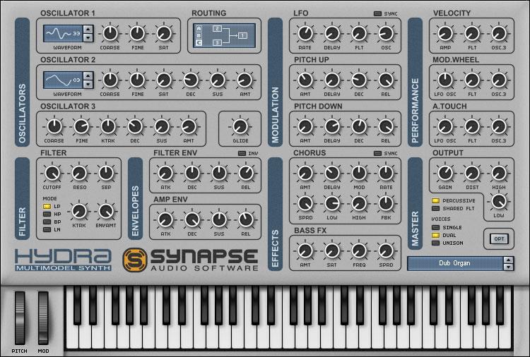 Synapse Audio Software Hydra VST/AU 1 4